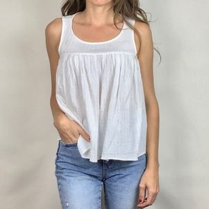 (BCBGeneration) Shirred Babydoll Top
